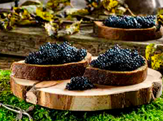 Störkaviar und Schwarzer Kaviar DE