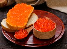 pink salmon caviar from Kamchatka